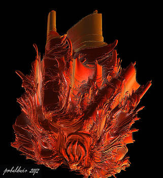 Flaming Castle by Patrice Baldwin