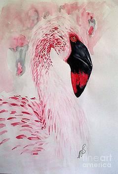 Flamingo I. by Paula Steffensen