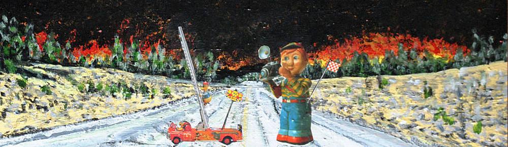 Flash Fire. by Carl Schumann