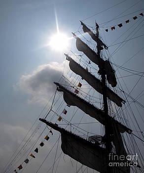 Fleet Week - Main Sail by Maria Scarfone