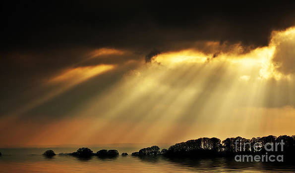 Simon Bratt Photography LRPS - Flood in evening light
