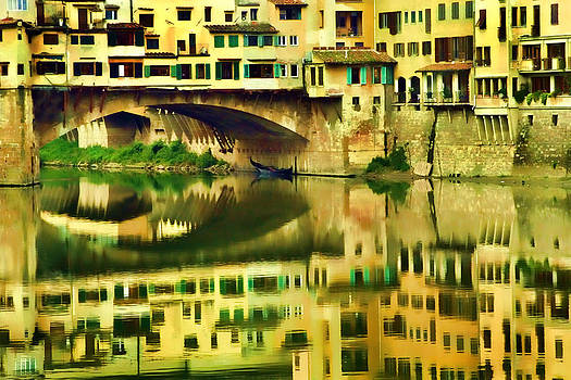 Florence reflection by Dawn Nicoli