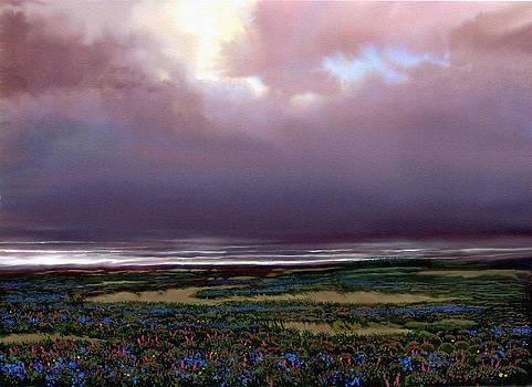 Flower Beach by Robert Foster