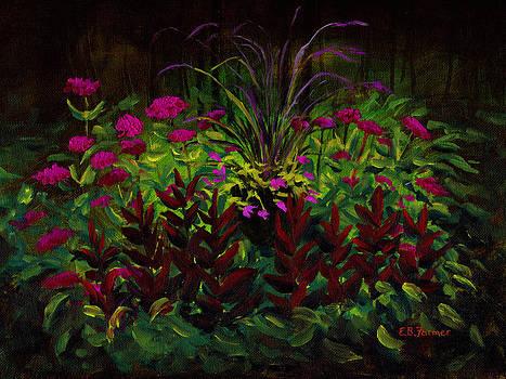 Flower Fountain by Elaine Farmer