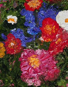 Flower garden by Tara Leigh Rose