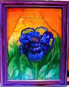 Flower Indigo by Jeanne Mytareva