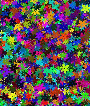 Svetlana Sewell - Flowers Abstract