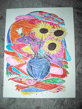 Flowers by Bhawani Shanker  Sharma