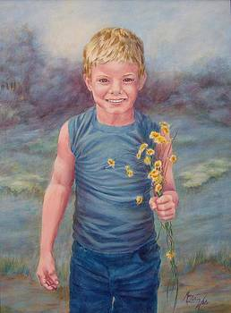 Flowers For Gram by Mary Lillian White