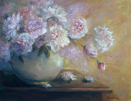 Flowers in June by Bonnie Goedecke