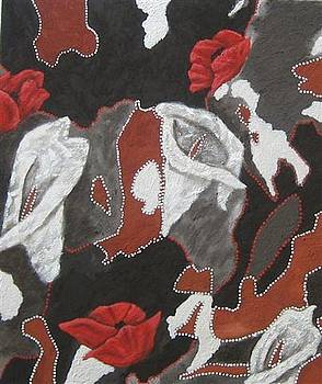 Flowers in the Bush by Susan McLean Gray