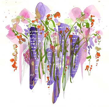 Flowers In The City by Darlene Flood