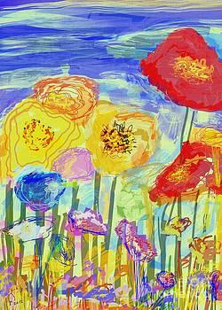 Flowers in The Wind by MURUMURU By FP