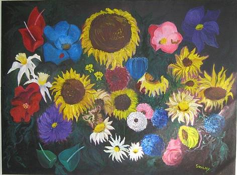 Flowers by John Sowley