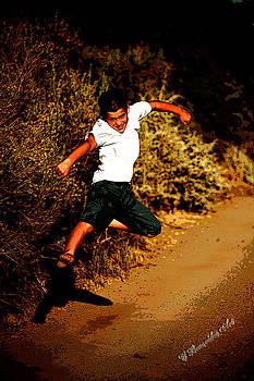 Flying Kick by Charles Benavidez
