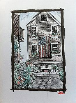 Flying the flag in Provincetown  by Mandy Beatson