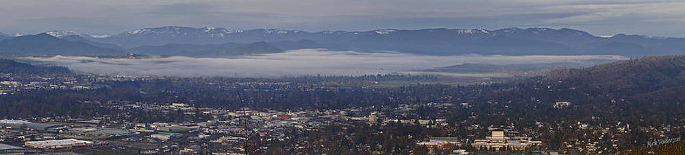 Mick Anderson - Fog Over A Grants Pass Morning