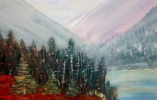 Foggy Day by Bev Hart