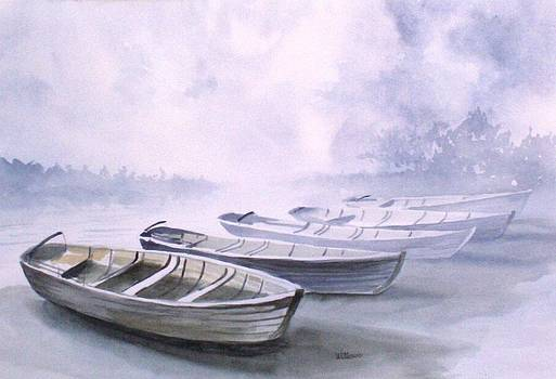 Foggy morning by Richard Willows