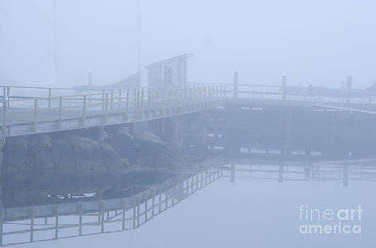 Foggy pier 2 by Jim Wright