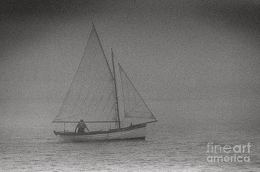 Foggy Sailing by James Thomas
