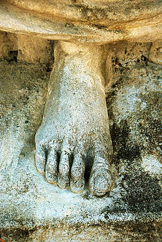 Foot Statue by Janet G T