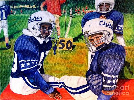 Football Buddies by LJ Newlin