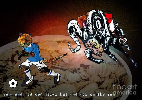 Miki De Goodaboom - Football Derby Rams against Leicester Foxes