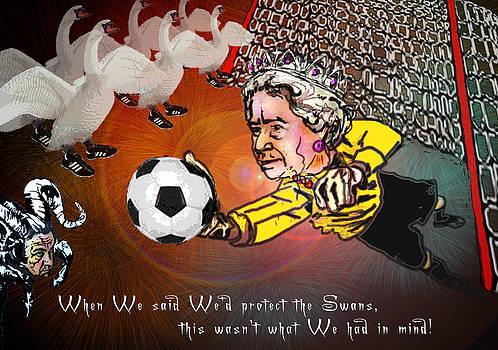Miki De Goodaboom - Football Derby Rams against Swansea Swans