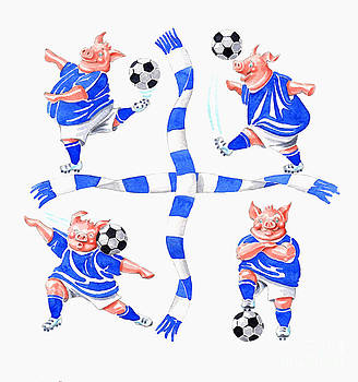 Footie moves by Debbie  Diamond