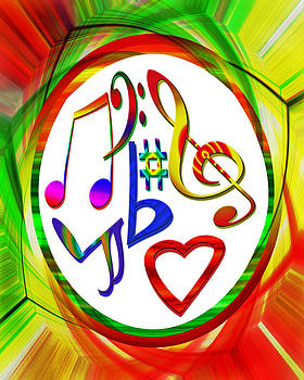 For the Love of Music by Susan Leggett