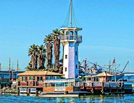 Forbes Island Lighthouse by Linda Gesualdo