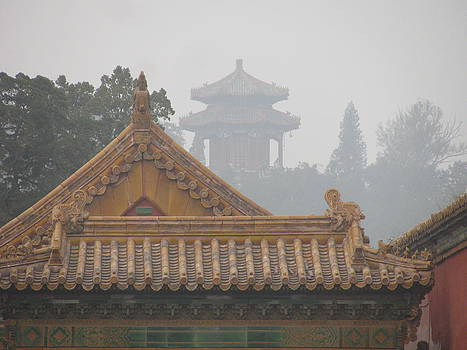 Alfred Ng - forbidden city in mist