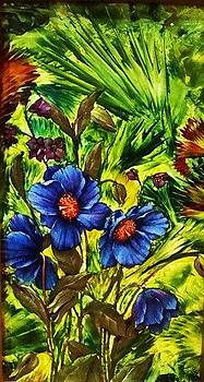 Forget-me- by Jeanne Mytareva