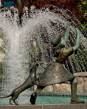LeeAnn McLaneGoetz McLaneGoetzStudioLLCcom - Fountain Girl with tail