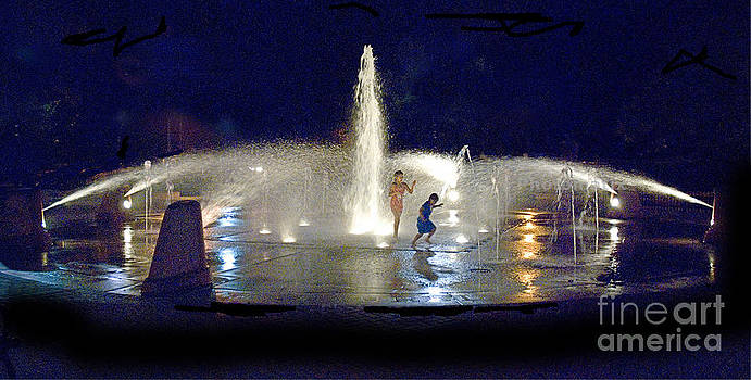 Fountain by Jim Wright