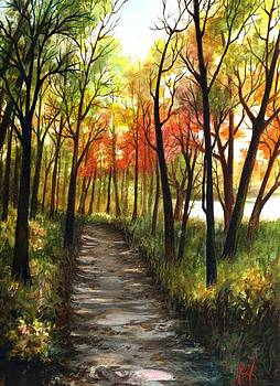 Fox River Trail by Carrie Auwaerter