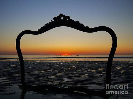 Framed Sunrise by Nancie DeMellia