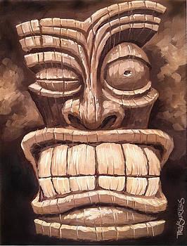 Freaky Tiki Man 1 by Trey Surtees