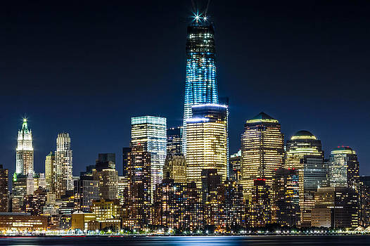 Freedom Tower  by Val Black Russian Tourchin