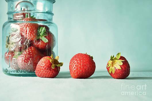 Fresh Strawberries by Anna Crowder