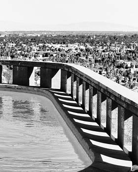 William Dey - FREY POOL BW Palm Springs