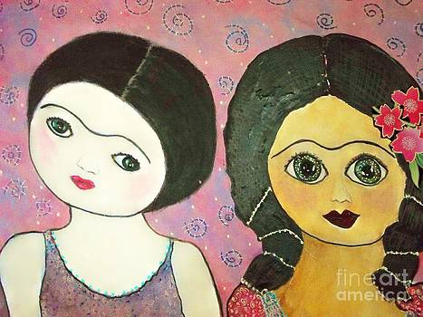Fridas Day and Night by Viva La Vida Galeria Gloria