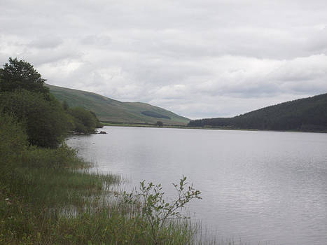 From The Shoreline Of St Marys Loch by Martin Blakeley