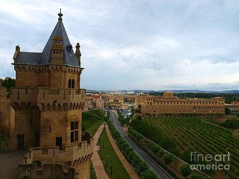 Front View from the Castle by Alfredo Rodriguez
