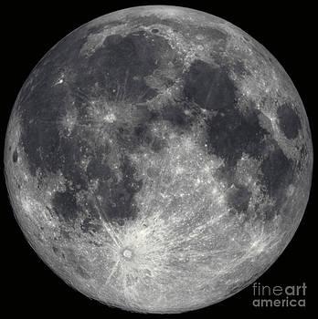 Hale Observatories - Full Moon