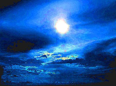 FuLL MooN in BLue by Teresa Grace Mock