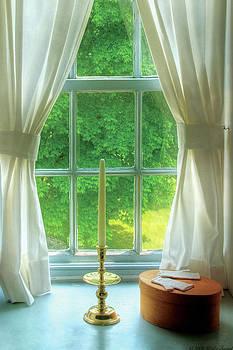 Mike Savad - Furniture - Lamp - Still life in a window