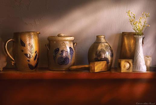 Mike Savad - Furniture - Shelf - Family Heirlooms