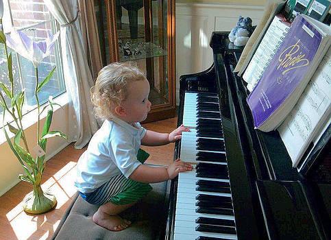 Future Pianist by Diane Ferguson